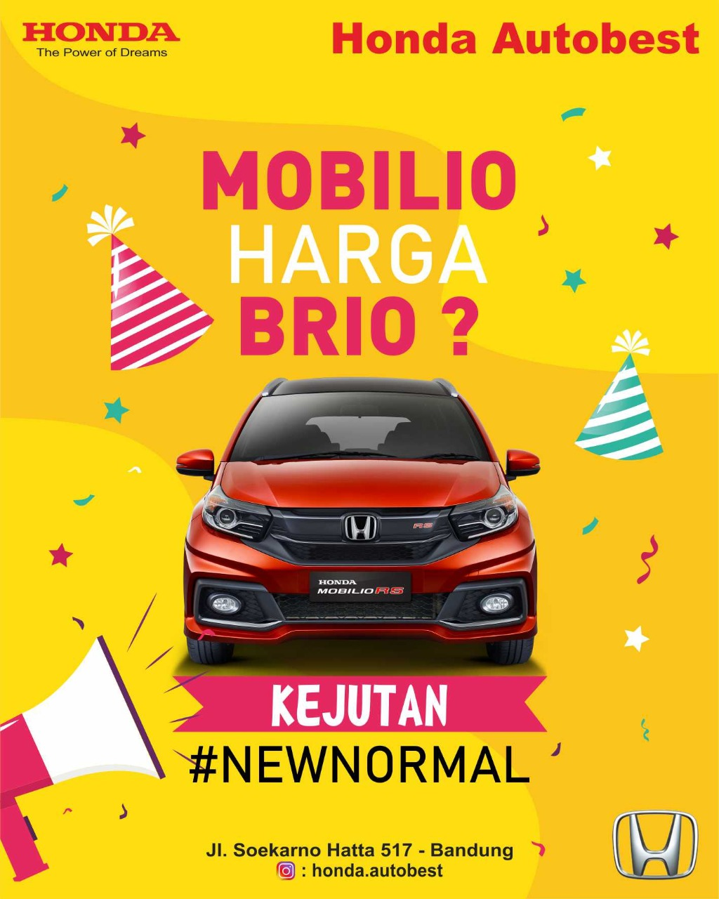 Mobilio Harga Brio, Kejutan New Normal